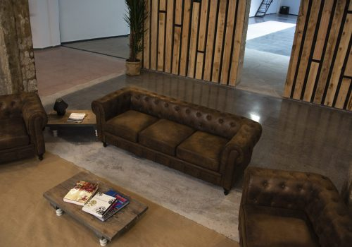 Downtown eventos plato showroom antesala chill out 2