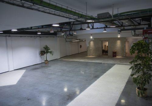 Downtown eventos plato showroom sala grande fondo